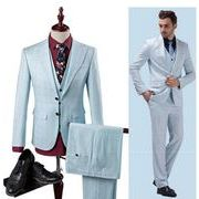 スーツセットアップ チェック柄 スリーピース メンズ 2ボタン 通勤 結婚式 二次会 入学式 細身 紳士服
