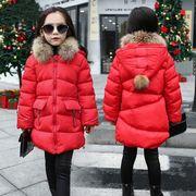 子供 コート ベビー キッズ 女の子 子供服 子供用 厚手 防寒 アウター 棉 コート
