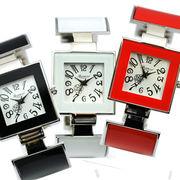Rapport レディース ファッション 腕時計 バングルウォッチ ラポール スクエア バングル