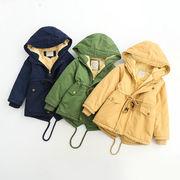 格安!2-7/5着セット★キッズ★幼児★厚★綿入れ★フード付コート★ジャケット