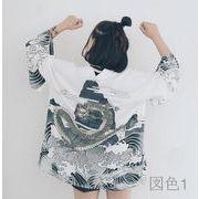 大きいサイズ 初回送料無料 日系 原宿 和服 2色 kjhmr-16lm01 秋冬 新作