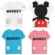 ミッキーマウス 半袖 Tシャツ 90cm~130cm 3色 韓国子供服 春夏