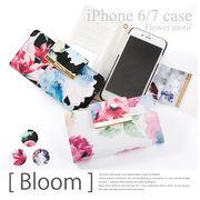 花柄IPhone6・7ケース ブルーム