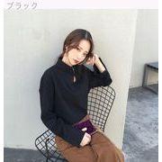 韓国★何でも似合う★包帯★単一色★ルース★ヘッジ★シャツ★シャツ★女