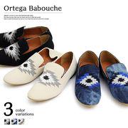 オルテガ刺繍バブーシュ/sb-glbt-112