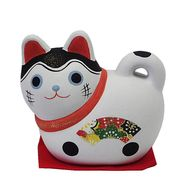 《日本製》ペーパークレイ エコ貯金箱 キャット 猫