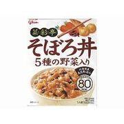 【代引不可】Glico グリコ 菜彩亭 そぼろ丼 140g x10
