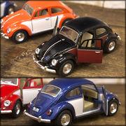 【1967 VW Classical Beetle (Color door) 1:32(M)】ダイキャストミニカー12台セット★