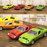 【1971 Lamborghini Miura P400 SV 1:34(M)】ダイキャストミニカー12台セット★