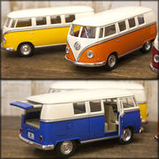 【1962 VW Classical Bus (Ivory Top)  1:32(M)】ダイキャストミニカー12台セット★