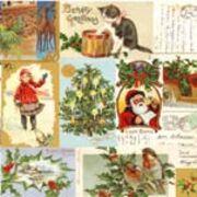 Paw Decor Collection ペーパーナプキン クリスマス×猫