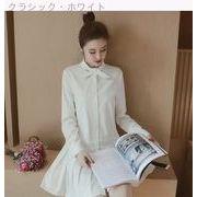 Rinaシリーズ★セール★新しいデザイン★女性服★韓国風★タイ★ティー★プリーツ★フリル