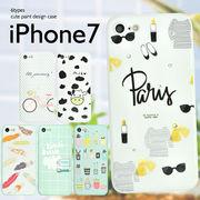 <アイフォン7用>iPhone7用キュートプリントデザインケース
