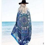 人気♪同梱でお買得★定番★日焼け止め★シフォンスカーフ★ビーチスカーフ