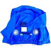 FJK 爽快 クールウェア 専用作業服(ファンユニット等は付属しません。) Mサイズ ブルー