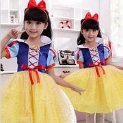ハロウィン コスプレ衣装子供 女の子 白雪姫風 コスチューム コスプレ 仮装