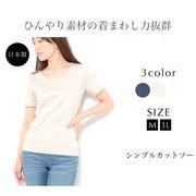 【日本製】 【涼感素材】 【吸汗速乾】 【UVカット】 Tシャツ M 3L 半袖 無地 アイスプレミアム・アルファ