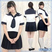 ■送料無料■川村中学校・高等学校(川村学園) 夏服 サイズ:M/BIG