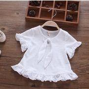 ★流行り新しいスタイル★キッズ服 Tシャツ ホワイト