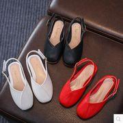 【子供靴】★可愛いデザインの子供靴★ ファクションな皮靴★女の子★3色★サイズ26-35