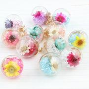 DIYカラー水晶玉*合金 腕輪/ネックレース/着物/携帯電話の美容 ペンダント ハンドメイド