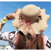 2017新作★手作り帽子★夏にぴったり★ファッション 2色