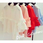 NEW☆新作アバレルゆったり シンプルスタイル 半袖 Tシャツ  全3色 7apr-ladys-033