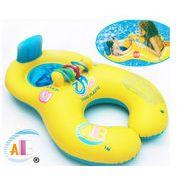 人気新品★キッズ浮き輪★母子用遊べる浮輪