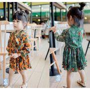 韓国風★新しいスタイル★キッズ用アパレル ワンピース 2色