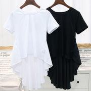 初回送料無料 無地 ゆったり 半袖 Tシャツ 大人気 全2色 Dyibh-1705ai071 冬春 新作