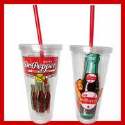シッパーカップ Dr.pepper 【ストロー付き タンブラー】
