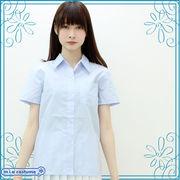 ■送料無料■半袖シャツ単品 色:サックス サイズ:M/BIG