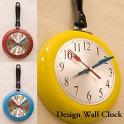 【壁掛時計】デザインウォールクロック【フライパン】