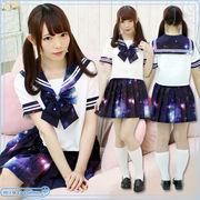 ■送料無料■宇宙ロマンティックセーラー 色:紫 サイズ:M/BIG