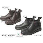 【HENRY&HENRY】 BEN(レインブーツ) 全2色 メンズ