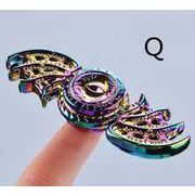 【値下げ】ハンドスピナー 6種類 亜鉛合金 Hand spinner スピナー スピン 人気の指遊び 独楽回し