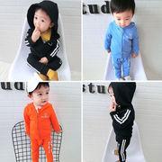 赤ちゃん 秋服 セット 児童 運動 洋服 赤ちゃん 男児 キッズ洋服 韓国風 アウターウ