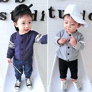 新しいデザイン 秋服 男児 女子児童 赤ちゃん 長袖 アウターウェア 赤ちゃん レジャー