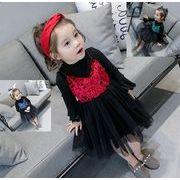 秋 子供服 tシャツ+キャミワンピース 女の子 セットアップ 2点セット ファッション カジュアル