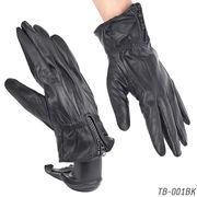 【本革メンズ手袋】 ラム皮レザーグローブ 秋冬 紳士テブクロ 革手袋 TB-001