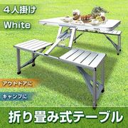 折り畳み式ガーデンテーブル&チェアー1135