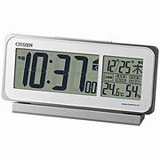 【新品取寄せ品】シチズン電波目覚まし時計「スマートコートピュア」8RZ141-003