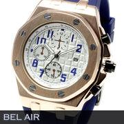 【八角形ベゼル】★グランド タペストリー 文字盤 メンズ腕時計 DD3【Bel Air collection】★