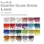 全23色【最高級グリッスンガラスストーン】大きめ2.8mm~6.4mm大容量業務用 ネイル・ハンドメイドに