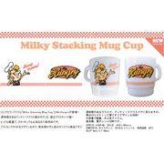 プラスティックマグ【Milky Ctacking Mug Cup】Mr.Hungry(ミスターハングリー)