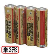 アイリスオーヤマ 大容量アルカリ乾電池 単3形4本パック LR6IRB-4S