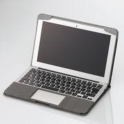 エレコム MacBook Air用ファブリックカバー MB-A11FCGY
