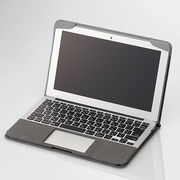 �G���R�� MacBook Air�p�t�@�u���b�N�J�o�[ MB-A11FCGY