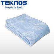 テクノス 洗える綿敷毛布 EM-533