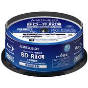 三菱化学 4倍速対応BD-R DL 20枚パック 50GB ホワイトプリンタブル VBR260YP20SD1